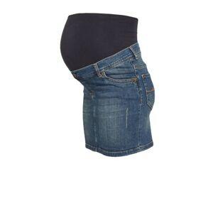 LOVE2WAIT zwangerschaps spijkerrok  - Blauw - Size: 31