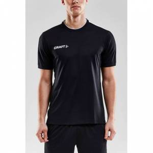 Craft Senior sport T-shirt  - Zwart/wit