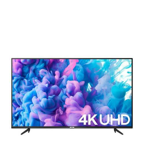 TCL 75P615 4K HDR 10 Android TV  - Zwart