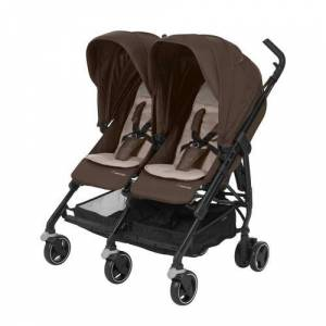 Maxi-Cosi Dana For2 duo buggy Nomad Brown  - Nomad brown - Size: 000