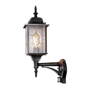 Konstsmide wandlamp Milano (M, met bewegingssensor)  - Zwart - Size: 000