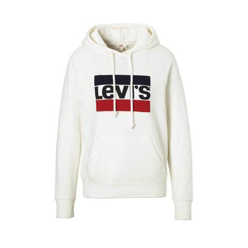 Levi's Graphic sport hoodie Marshmallow  - Marshmallow