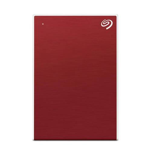 Seagate One Touch 2.5' 1TB harde schijf zilver  - Rood