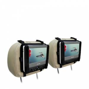 Salora DVP7048 Twin duo portable DVD-speler met 7 inch schermen