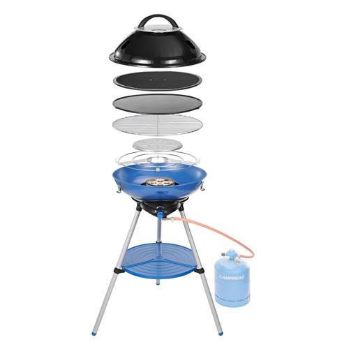 Campingaz Party Grill 600 Int gasbarbecue  - Blauw
