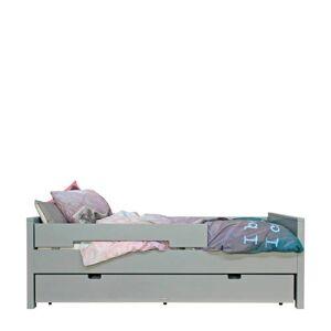 Bopita bed 90X200 Jonne Pure grijs (inclusief 2 uitvalrekken) (90x200 cm)  - Grijs - Size: 000