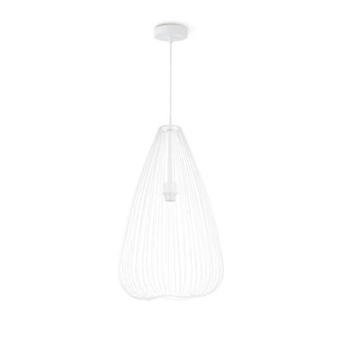 home sweet home hanglamp Cage  - Wit