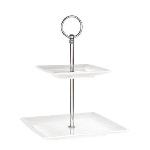 Cosy & Trendy etagere Avantgarde 2 laags  - Wit