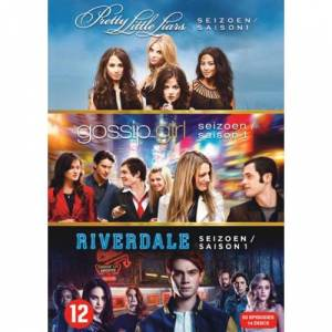 Gossip girl - Seizoen 1/Pretty little liars - Seizoen 1/Riverdale - Seizoen 1 (DVD)