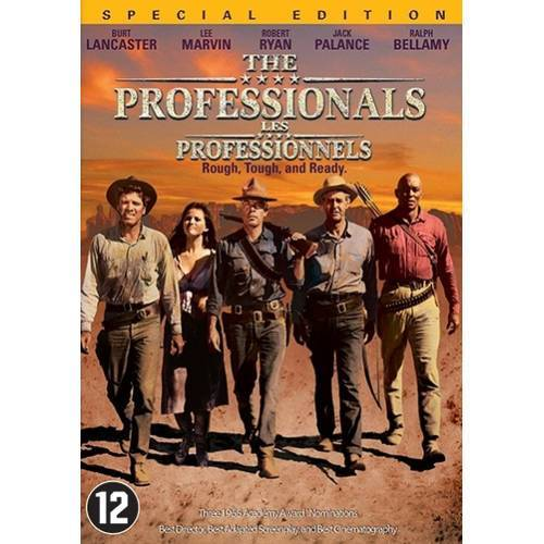 The professionals (1966) (DVD)