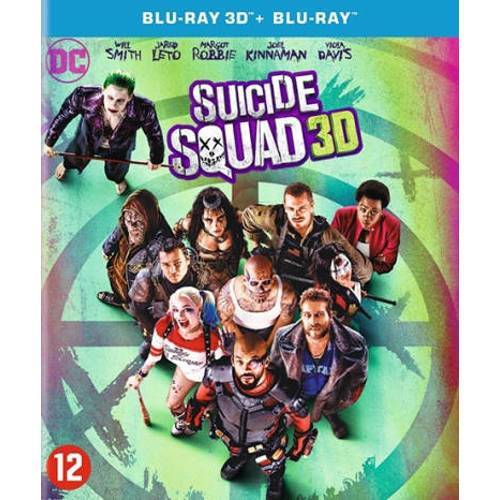 Suicide squad (3D) (Blu-ray)