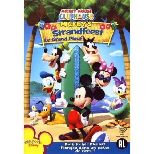 Mickey Mouse clubhouse - Mickey's strandfeest (DVD)