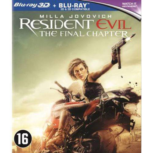 Resident evil - The final chapter (3D) (Blu-ray)