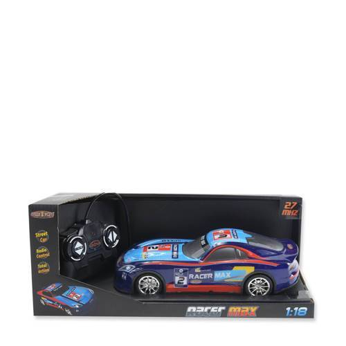 Gear2play RC Racer Max Raceauto  - Blauw