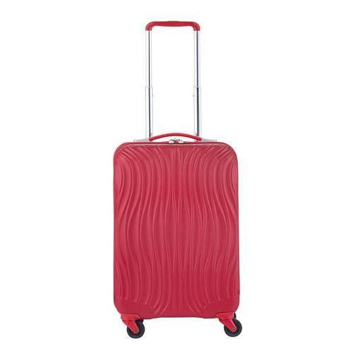 CarryOn trolley Wave 55 cm. rood  - Rood