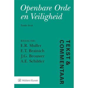Tekst & Commentaar: Openbare Orde en Veiligheid  - Size: 000