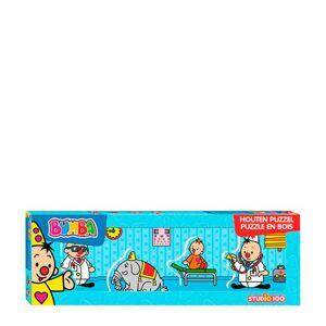 Studio 100 Bumba dokter mini houten vormenpuzzel 4 stukjes  - Size: 000
