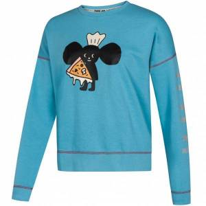 PUMA x TYAKASHA Dames Crew Sweatshirt 578428-49  - blauw - Size: Extra Small