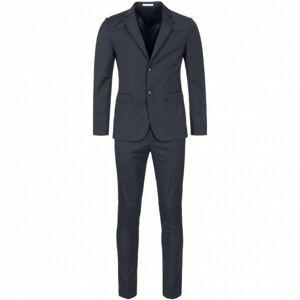 MOSCHINO Luxe designer herenpak 699083-2 marine  - blauw - Size: 56