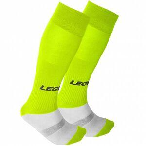 Legea Mondial Sportsokken neon geel  - geel - Size: 34-39