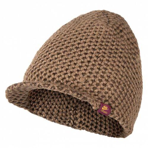 Nike Peak Beanie Wintermuts met klep 324394-260  - bruin - Size: One Size