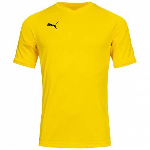 PUMA Liga Pro Heren Handbalshirt 703411-07  - geel - Size: 2X-Large