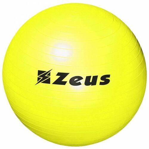Zeus Gym Yoga fitness-oefenbal 75 cm geel  - geel - Size: One Size