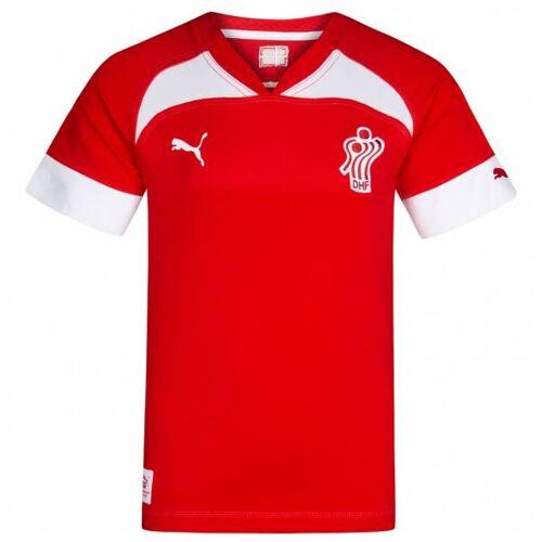 Puma Denemarken DHF PUMA handbaljersey voor kinderen 744030-01  - rood - Size: 140