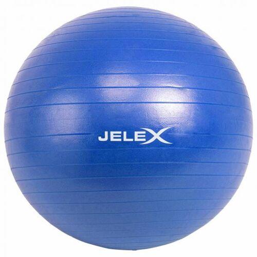 JELEX Fitness yogabal inclusief pomp 65cm blauw  - blauw - Size: One Size
