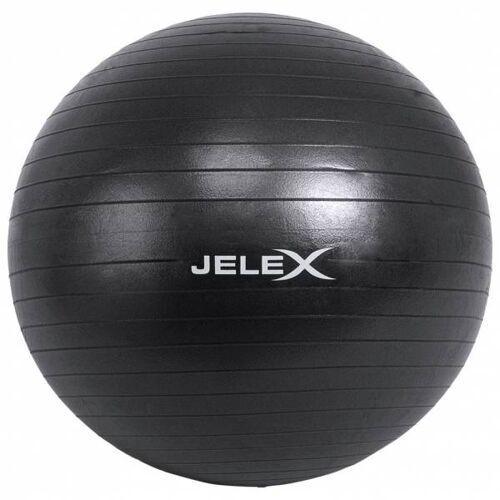 JELEX Fitness yogabal inclusief pomp 65cm zwart  - zwart - Size: One Size