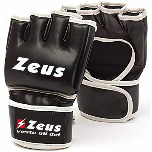 Zeus Heren MMA Vechtsporthandschoenen  - zwart - Size: Small