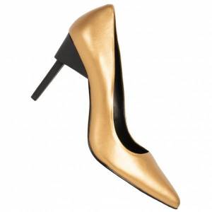 Calvin Klein Princess Patent Dames Pumps N12097GLD  - goud - Size: 38