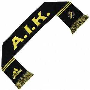 Adidas AIK Solna adidas-ventilatorsjaal X33919  - zwart - Size: One Size