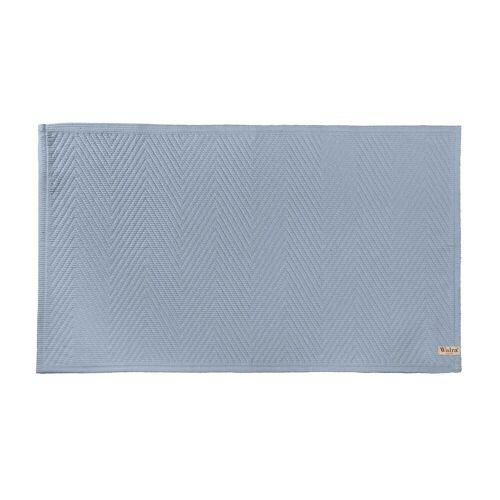 Walra badmat Soft Cotton - Blauw