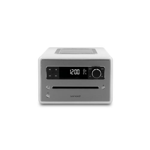 Sonoro Qubo - DAB+ Radio, CD en Bluetooth - Zilver