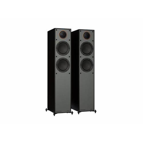 Monitor Audio Monitor 200 vloerstaande speakers - Zwart (per paar)