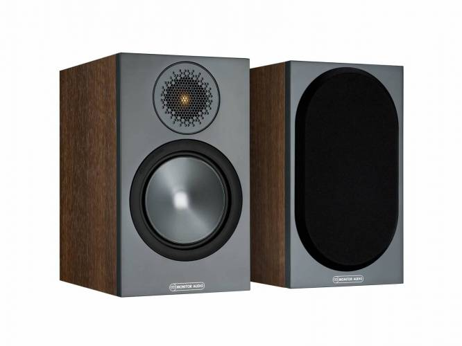Monitor Audio Bronze 50 boekenplank speaker  walnoot (per paar)