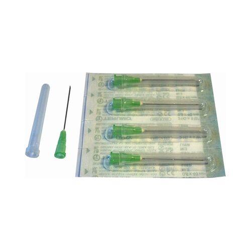 Injectienaalden set van 5 stuks 0,8 x 40 mm