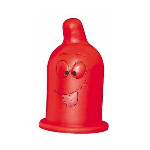Rode Decoratie Condoomlamp