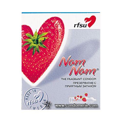 RFSU NamNam Aardbeien condooms, 10 stuks