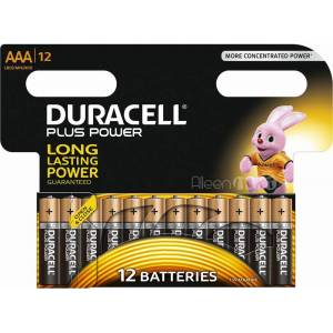 Duracell Plus Power AAA 12-Pack LR03, MN2400