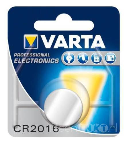 Varta CR2016 3V Lithium knoopcel
