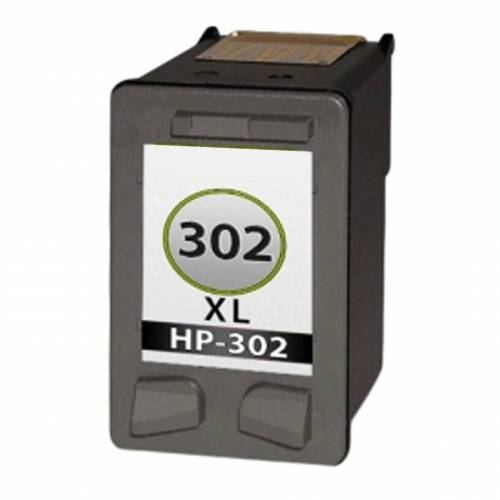 HP 302XL inktcartridge Zwart (huismerk inktcartridges)