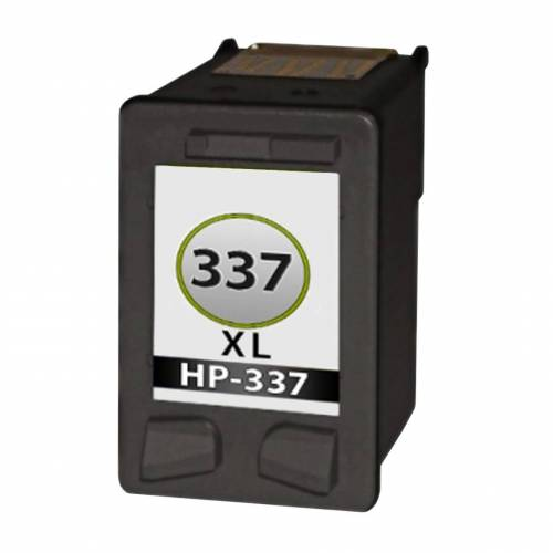 HP 337XL inktcartridge Zwart (huismerk inktcartridges)
