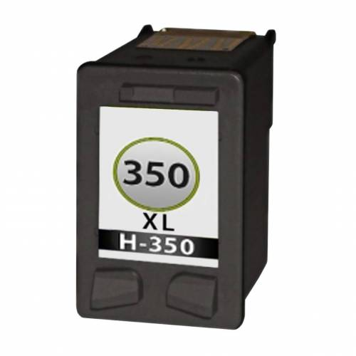 HP 350XL inktcartridge Zwart (huismerk inktcartridges)