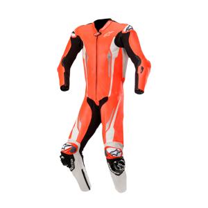 Alpinestars Leren Pak Alpinestars Racing Absolute Tech-Air® 1St. Rood-Wit-Zwart