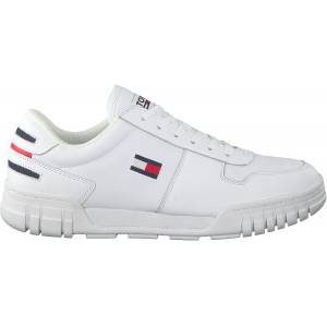 Tommy Hilfiger Witte Tommy Hilfiger Lage Sneakers Essential Retro