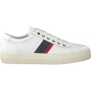 Tommy Hilfiger Witte Tommy Hilfiger Lage Sneakers FAshion Lh Le