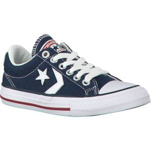 Converse Blauwe Converse Sneakers Star Player Ev Ox Kids