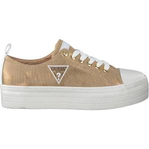 Guess Gouden Guess Lage Sneakers Brigs